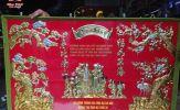 Tranh đồng - món quà ý nghĩa dành tặng ông bà, cha mẹ trong lễ mừng thọ