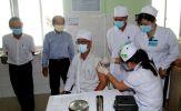 Đồng Tháp: Bắt đầu tiêm vắc xin phòng dịch Covid-19