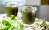 Mỗi ngày một cốc nước ép rau má tốt hơn trăm ngàn viên thuốc bổ