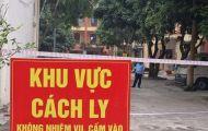 Cách ly cụm dân cư 177 người ở huyện Thanh Hà, Hải Dương