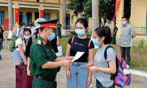 62 công dân hoàn thành cách ly y tế tập trung tại Hòa Bình