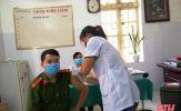 Quan Sơn tổ chức tiêm vắc - xin phòng COVID-19 đợt 2 cho lực lượng tuyến đầu phòng, chống dịch