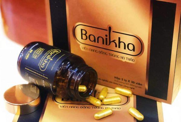 Viên nang đông trùng hạ thảo Banikha -